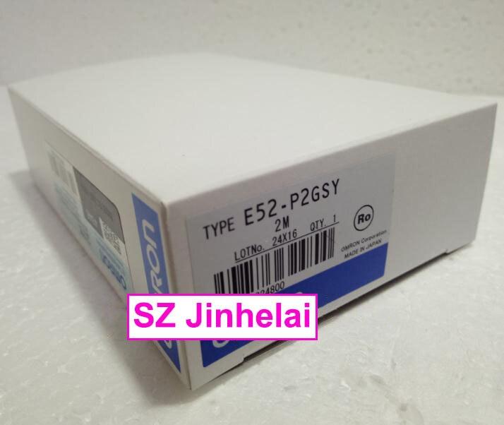 E52-P2GSY  2M   New and original  OMRON [zob] new original omron omron beam photoelectric switch e3jk tr12 c 2m 2pcs lot
