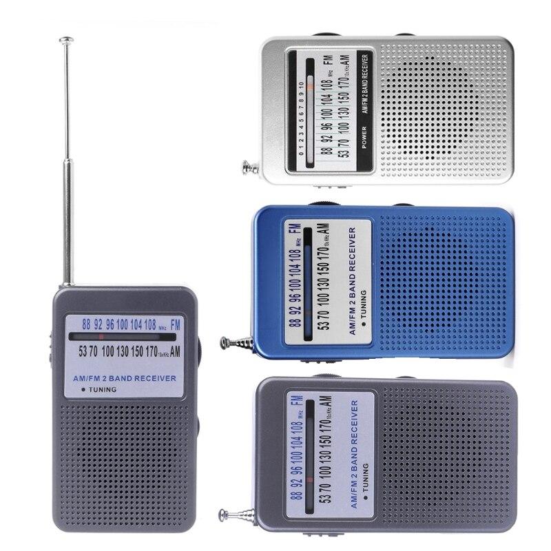 Radio Herzhaft Tragbare Am/fm 2 Band Digital Display Tasche Radio Empfänger Unterstützung Stereo Modus