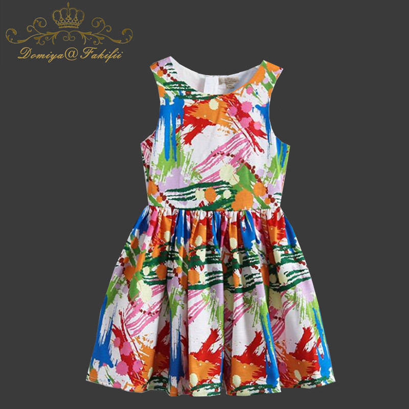 Baby Girls Dress Summer 2018 Brand Kids Clothes Toddler Robe Enfant Christmas Dress Princess Children Clothing Infant Vestiods new girls dress brand summer clothes ice cream print costumes sleeveless kids clothing cute children vest dress princess dress