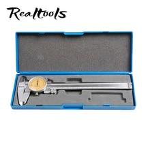 Big discount Professional calipers 0-150mm accuracy 0.02mm stainless steel dial display shock-proof metric dial vernier caliper metal