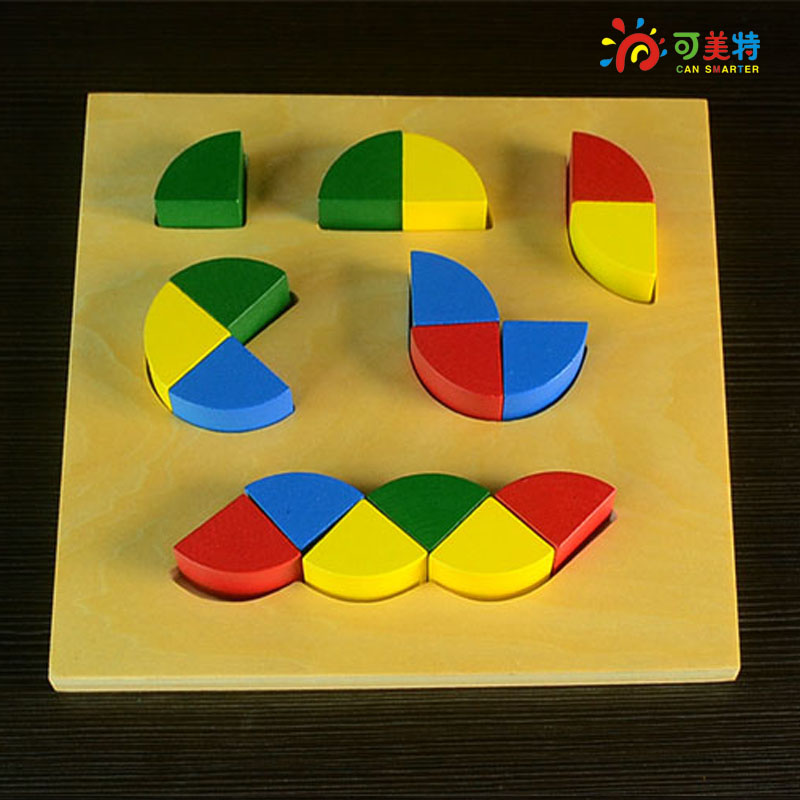 Montessori Materials Education Irregular Puzzles  Beech Wood  Math toys Early educational toys Free Shipping Can Smarter montessori education 0 10 numbers odevity pedestal beech wood math toys early educational toys free shipping