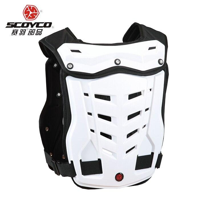 Moto Motocross poitrine dos protecteur armure gilet course protection corps-garde MX armor ATV équipement de protection gardes