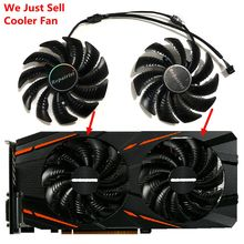 купить GV-RX570/580GAMING GV-RX470WF2/RX480WF2 T129215SU 87MM(90mm) Gigabyte Cards Cooling Fan as Replacement дешево