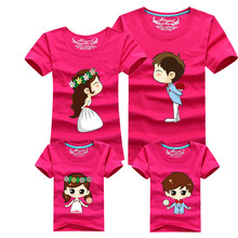 All Family Cartoon Printed T-Shirts