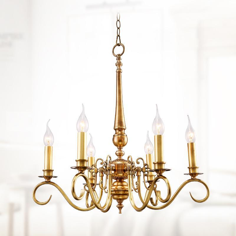 Gold Banquet Hall Art Deco Chandelier For Dining Room Copper Kitchen