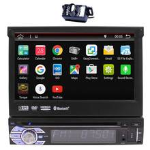 2017 New Android 6.0 In-dash Car DVD Stereo GPS Autoradio Navigation Radio Head Unit Single 1din Bluetooth+Free Rear Camera