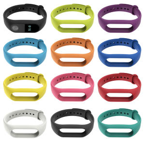 Bracelet Watch Wrist-Strap Mi-Band Xiaomi Silicone 2-Accessories