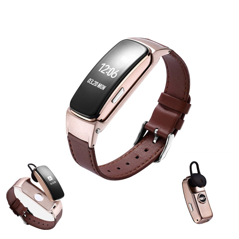 Bluetooth Good Band Reply Dail Name Good Name Bracelet Coronary heart Price Monitor Good Wristband For Huawei Cellphone
