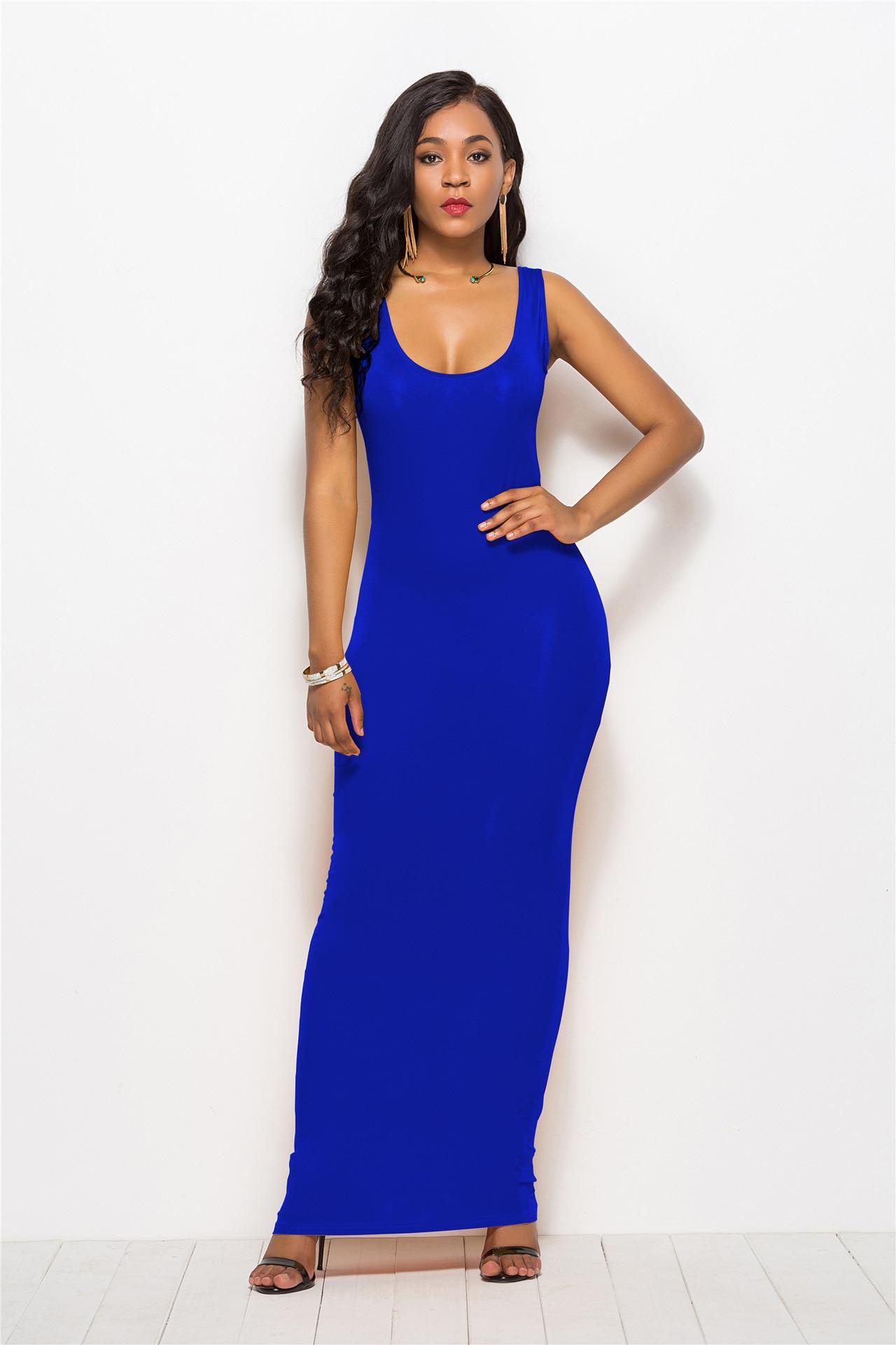 2019 женские сексуальные жилет длинная юбка классический модное платье мульти-код многоцветные