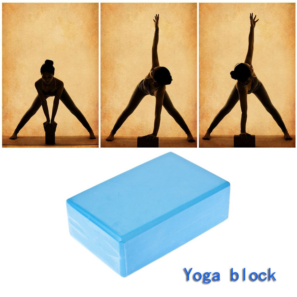 MrY Yoga Block Exercise Fitness Sport Yoga Props Foam Brick Stretching Aid Gym Pilates Foaming Foam Home Exercise Fitness 23 15 8cm in Yoga Blocks from Sports Entertainment