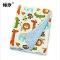 Одеяло для новорожденных  супер мягкое и комфортное детское одеяло  Детские банные полотенца  Двухслойное утепленное постельное белье  оде...