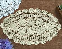 Modern Handmade Cotton Crochet tablecloth tea Table cloth towel round lace Flower Christmas Table Cover for home wedding decor