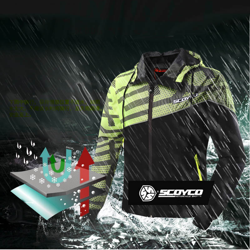 2018 Summer reflective vest motorcycle riding SCOYCO Jacket motocross motorbike jackets clothing waterproof not hot цены