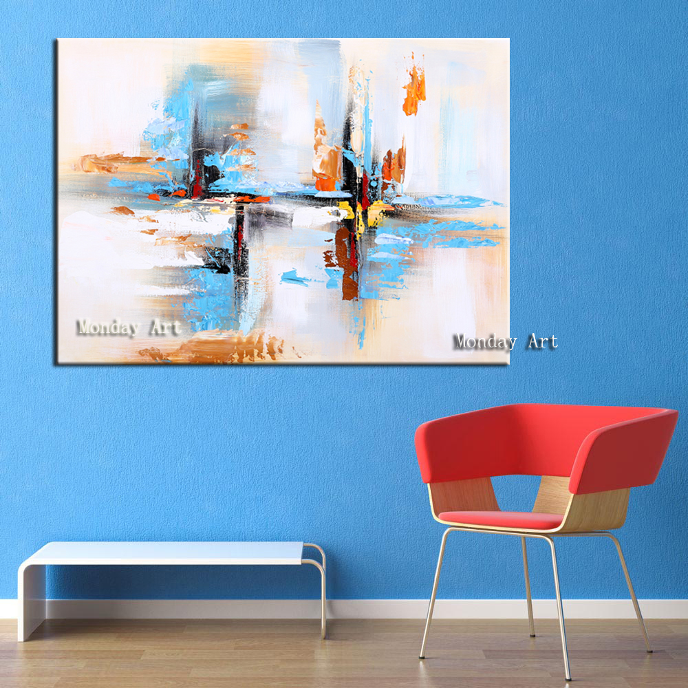 38 Wall-Art-Hand-Painted-Modern-Abstract-Blue-Oil-Painting-Wall-Decorative-Canvas-Art-Picture-for-living (1)