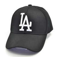 2019 Nuova lettera di Cappellini da baseball LA Dodgers Ricamo Hip Hop Cappelli di Snapback osso Uomini Donne Regolabile Gorras 4 colori