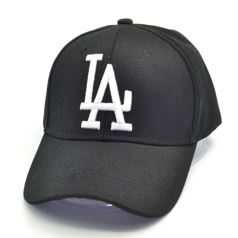 2019 nouvelle lettre casquettes de Baseball LA Dodgers broderie Hip Hop os Snapback chapeaux hommes femmes réglable Gorras 4 couleurs