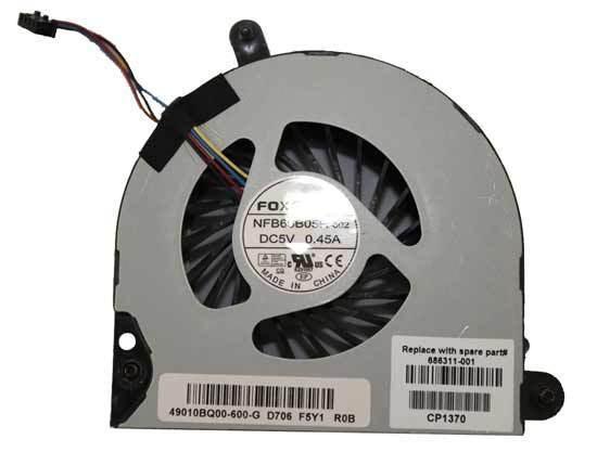 HP EliteBook 8560P 8570P Laptop Cpu Fan 647603-001