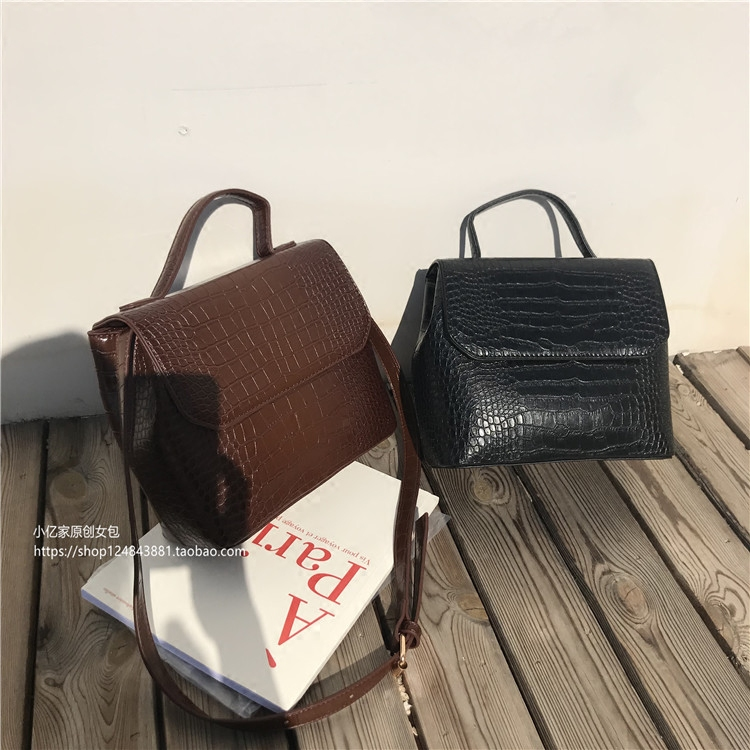 Повседневные сумки из кожи аллигатора, женские сумки мессенджеры с узором «крокодиловая кожа», женская сумка через плечо из искусственной кожи, женский кошелек, хит продаж Сумки с ручками      АлиЭкспресс