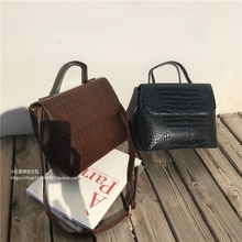 Casual Alligator Handbags Women Crocodile Pattern Messenger Bags Women PU