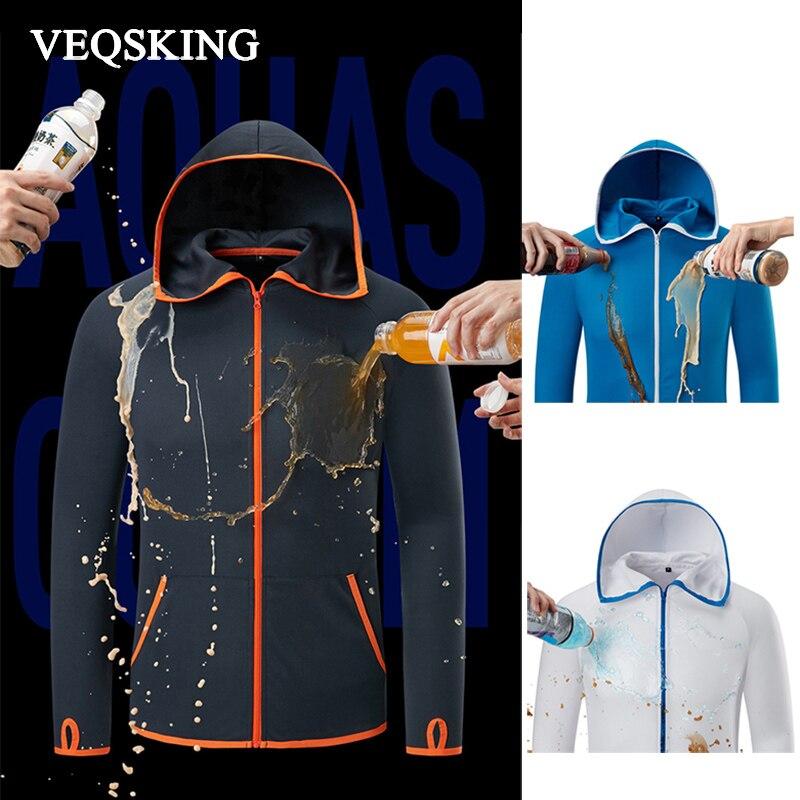 Jackets Shirts Clothing Hydrophobic Long-Sleeve Ice-Silk Waterproof Outdoor Hiking Casual