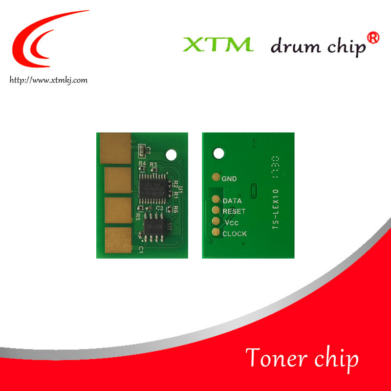 36K free shipping Toner reset chip replacement for Lexmark T650 T652 T654 T656 refill cartridge laser