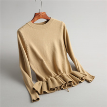 flounced spring sweater color
