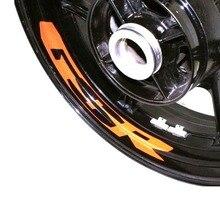 for SUZUKI GSR Motorcycle Wheel Sticker Inner Rim Decal Reflective Stickers Stripes for suzuki gsf650 gsf650s gsf1000 gsr 600 750 1000 gsr600 colorful motorcycles wheel stickers reflective rim moto stripe tape