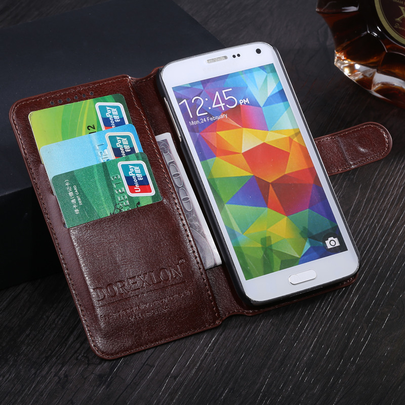 Leather Wallet Flip Cover Case For Alcatel One Touch Idol 3 4.7 inch Case 6039 6039Y Phone Bags Coque For Alcatel Idol 3 Case