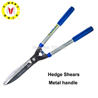 C MART Hand tools pruning scissors flowers trees trimmer hedge shears shrubs trimming shearing fence cutter branches cutting