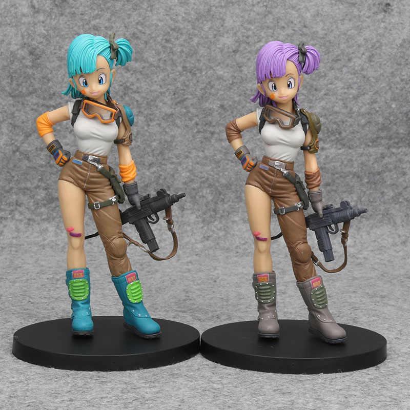 Anime Dragon Ball Z Bulma Zoukei Tenkaichi Action Figure Collectible Model Toy
