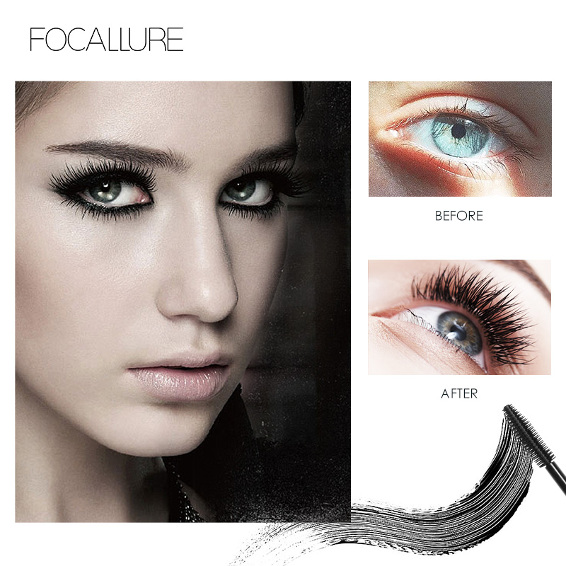 Focallure Eyes Makeup Set Fashion and Hot 3D Eyelash Mascara 3 in 1 Auto Eyebrow pen Perfect for make up in Makeup Sets from Beauty Health