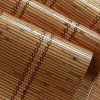 Beibehang Azjatycki styl tapety klasyczne słomy tekstury pionowe paski tapety tło tapety sklep do badania Restauracja