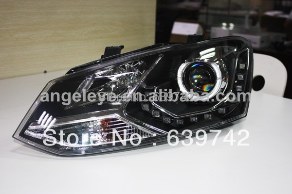 VW Xaç Polo LED Projektor Lensli 2011-2013 il LD ilə - Avtomobil işıqları - Fotoqrafiya 3