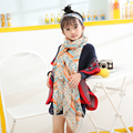 baby scarf children hijab 2016 winter autumn comfortable soft scarf very cute floral children's scarves for the girls boys scarf