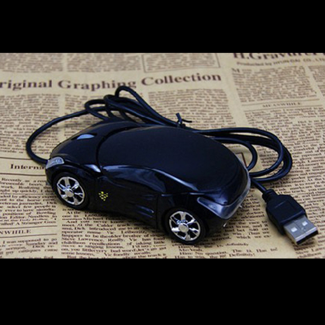 Etmakit Cute Hot Sale 1200DPI Wired Mouse Computer Mice Fashion Super Car Shaped Game Mice 2.4Ghz Optical Mouse for PC