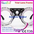 Xd18 5 pcs muito Nice Design 12 diferentes fixo 48 - 70 mm PDs distância aluno da lente de teste de optometria preto mais baixos custos de envio