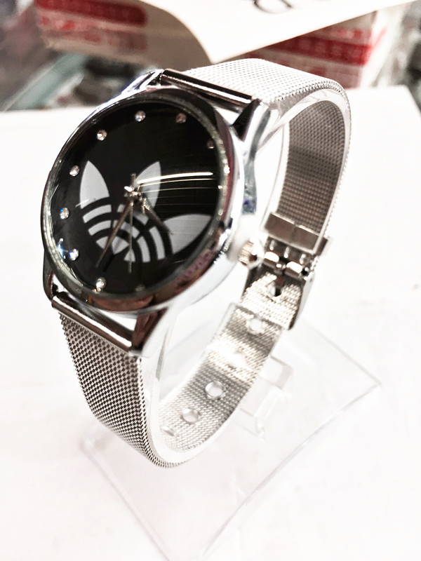 2018 New Luxury Brand Ladies Watch Fashion DressWomen Silver Mesh Belt Quartz Watch Men Sports ad Watches Relogio Feminino Clock