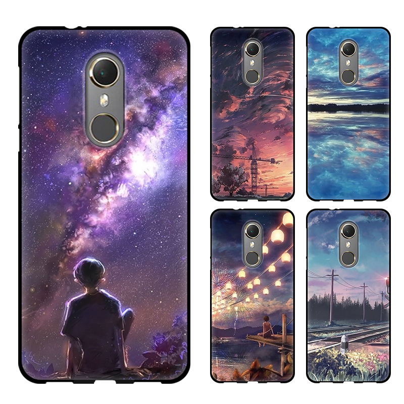 Fitted Cases Charitable Back Cover For Vodafone Smart N9 Silicone Case Soft Tpu Cute Cartoon Phone Case For Vodafone Smart N9 Vdf720 Case Cover 5.5 Inch