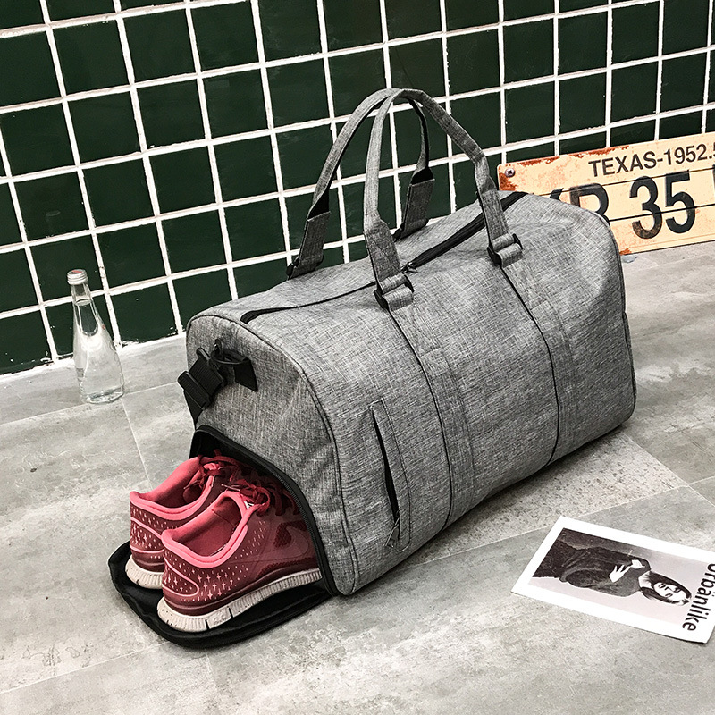 Men Gym Bag Sports Bag For Fitness Women Training Yoga Fitness Bags Outdoor Travel Handbag With Shoes Pouch Duffel Tote