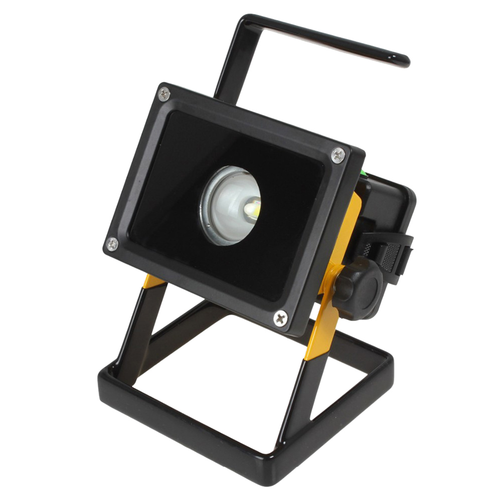 High Qualitylow consumption CREE T6 30W LED Rechargable Floodlight White Outdoor Garden Landscape Lamp Lighting
