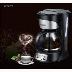 DL-KF300 750 ML 220V/50 Hz 800W Electric Drip Coffee Maker Machine Black Hourglass Make Cafe Tea Multifunctional fully-automatic