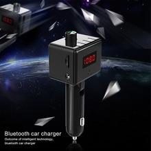 цена на BS6 Wireless In-Car Bluetooth FM Transmitter Audio Car Mp3 Player FM Modulator Handsfree Bluetooth Car Kit With Dual USB