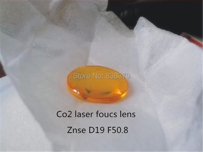 Cheap 19mm ZnSe Focus Lens laser for CO2 Laser 50 8mm focal laser lens for laser