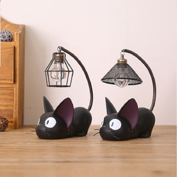 HJYVIOITN ночник для кошек, Artpad Miyazaki Hayao Kiki, доставка, Новый светильник для маленьких мальчиков и девочек, светильник для спальни, светильники