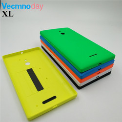 Vecmnoday New Colorful Battery Door Back Cover Housing Case For Nokia Lumia XL Dual Sim RM 1030 With Power Volume Buttons