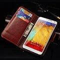 Для Samsung Note 3 Откидная Крышка Бумажник Кожаный Чехол для Samsung Galaxy Note 3 III N9000 Телефон Coque Дизайн Стенда С Карт памяти