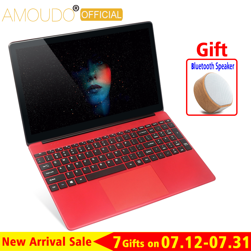 15.6inch 8GB RAM Up To 1TB SSD Intel Quad Core CPU 1920X1080P FHD Fast Speed Office Home School Laptop Notebook Computer