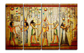 4 Panels Canvas Print Egypt Picture One Painting for Living Room Wall Art Picture Gift Home Decoration FOU012