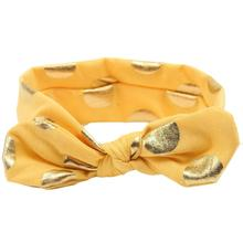 Headbands for Infants and Toddlers with Polka Dot Prints