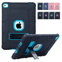 For Coque IPad Air 2 Case 3 In 1 Hybrid High Impact Heavy Duty Hard Rugged